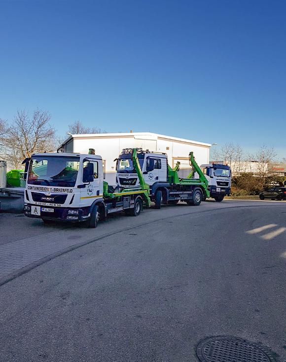 Containerdienst Birkenfeld - Lastwagen